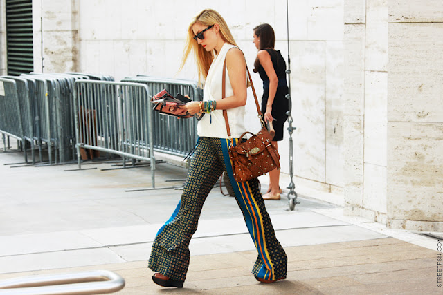 pajama pants new york fashion week