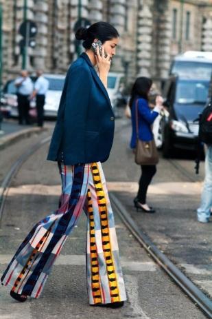 pyjama trouser in the city